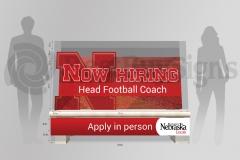 NE Football Coach