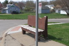 Old Bus Bench 1