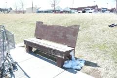 Old Bus Bench 9