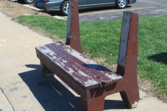 Old Bus Bench 14