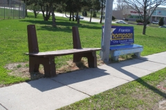 Old Bus Bench 3