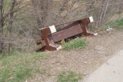 Old Bus Bench 4