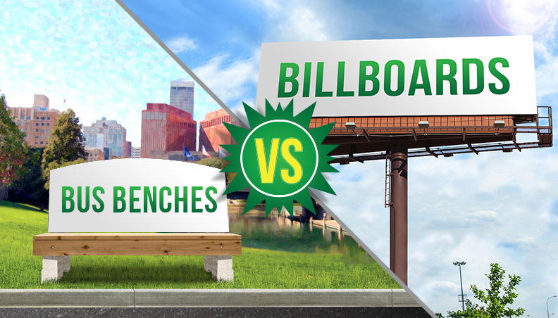 bus benches vs. billboards