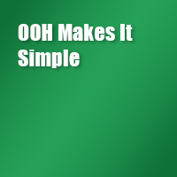 OOH makes it simple