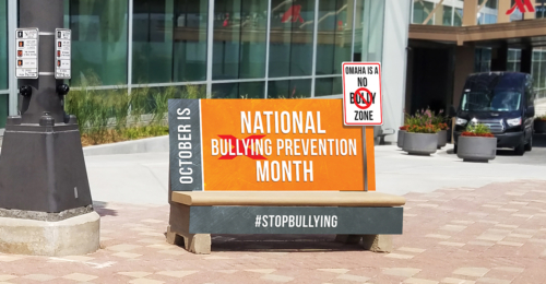 Bullying Prevention Bench