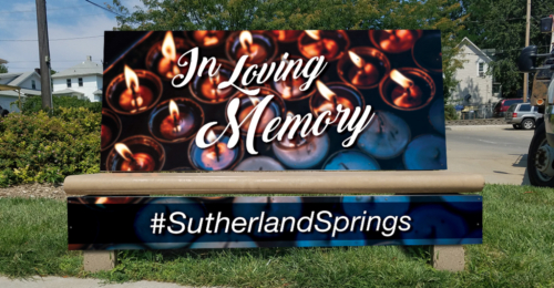 Sutherland Springs Bench